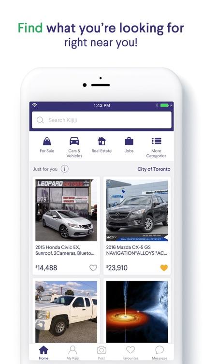 Kijiji Ads: Shop Local & Save screenshot-0