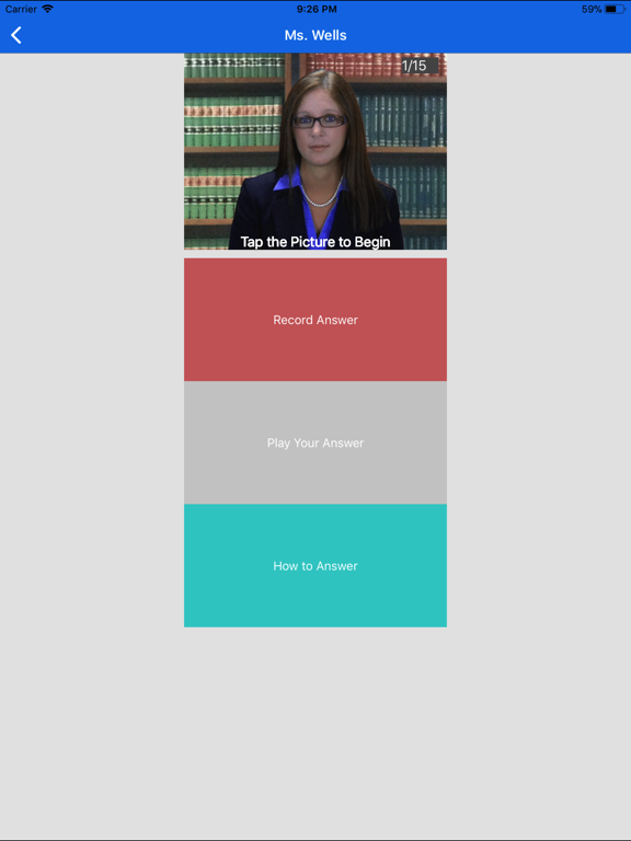 Job Interview Questions App by SimuGator screenshot
