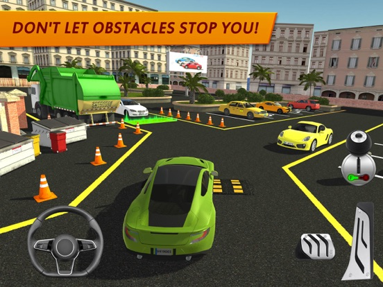 Shopping Mall Car Driving для iPad