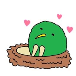 Green Kiwi Sticker