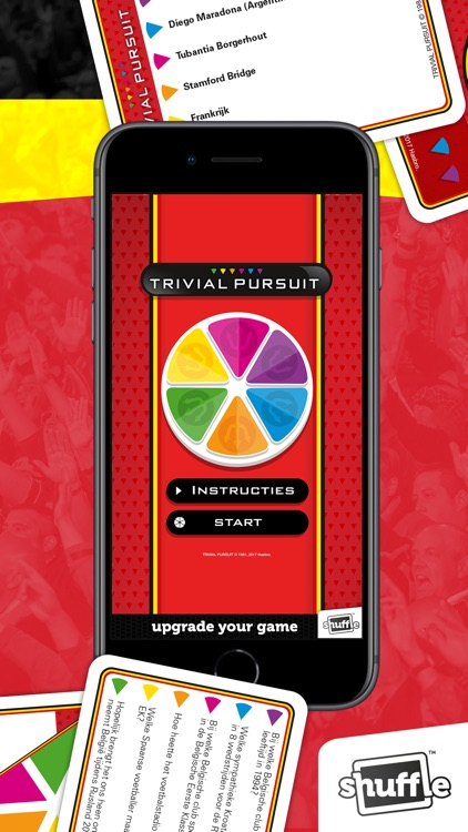 Trivial Pursuit BRD by Shuffle by Cartamundi Digital