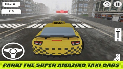 Lever Taxi Parking City screenshot 1