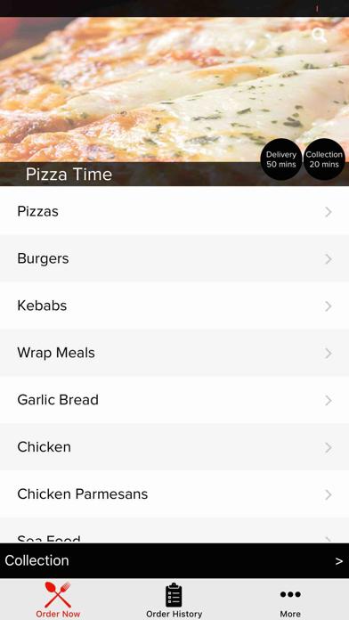 Pizza Time Ferryhill screenshot two
