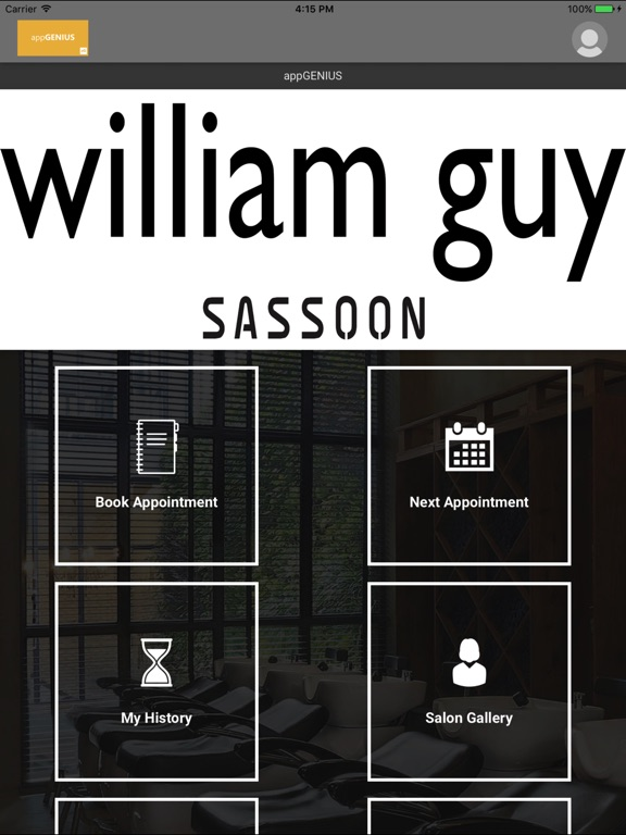 Image of William Guy Salon for iPad