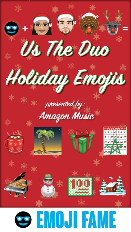 Us The Duo Holiday Emojis