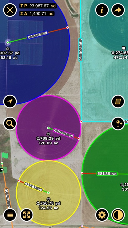 Planimeter - Measure Land Area & Distance on a Map screenshot-4