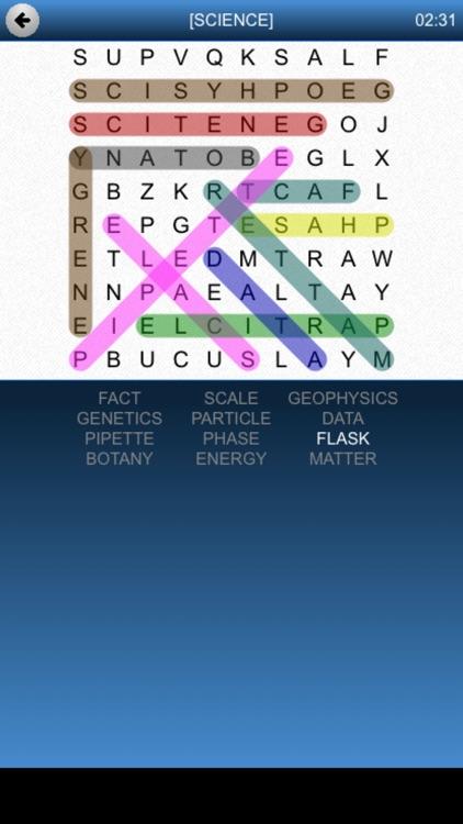 Word Search Fun Game