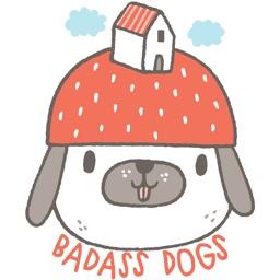 Badass Dogs by Anke Weckmann