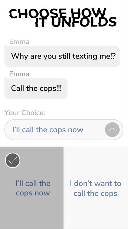 Cliffhanger - Chat Stories screenshot-0