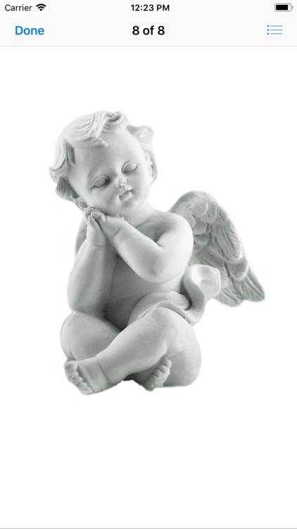 Angel Statue Stickers screenshot-8