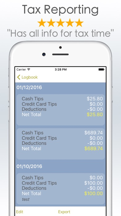 tipme tip earnings tracker app price drops