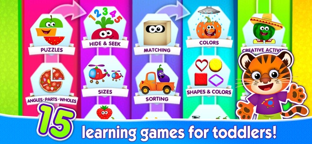 Kids Learning Games 4 Toddlers On The App Store