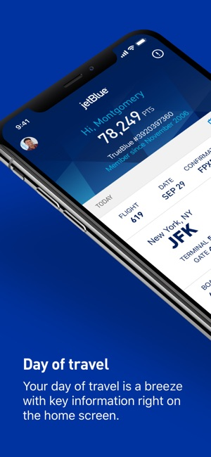 jetblue airways manage booking