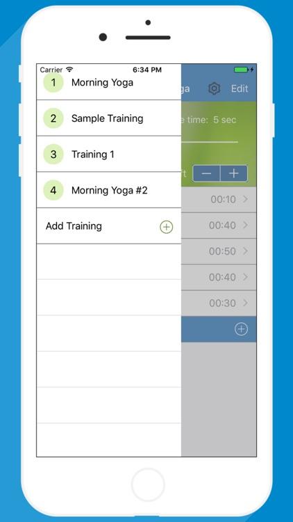 Yoga Timer for interval yoga trainings