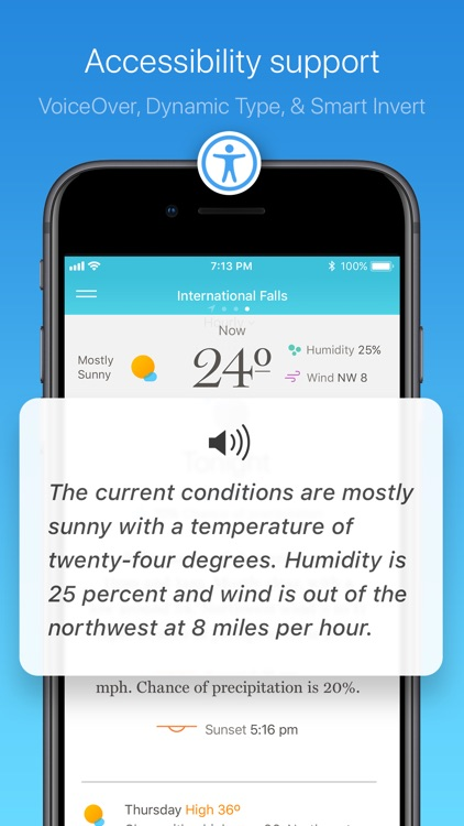 Weather Simple – NWS Forecasts screenshot-3