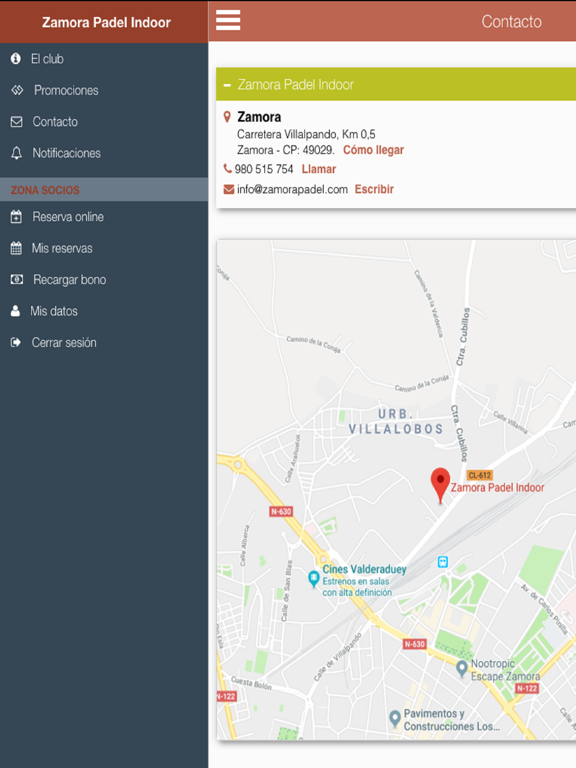 Zamora Padel screenshot 9