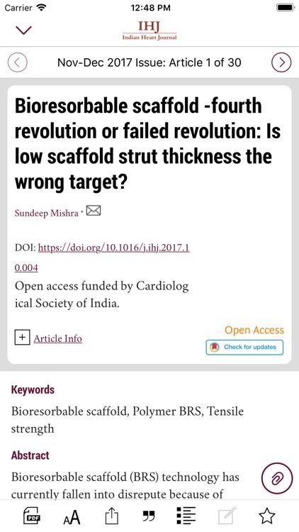 Indian Heart Journal screenshot-4