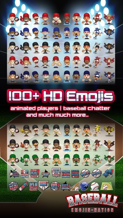 Baseball Emojis Nation