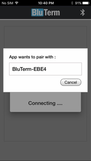 BluTerm - Serial Terminal on the App Store
