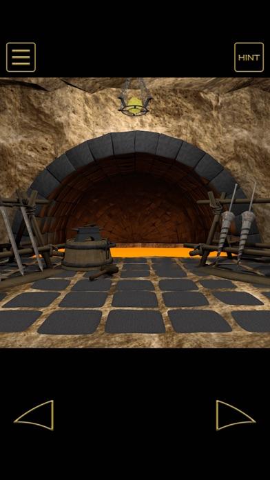 脱出ゲーム - 地賊団アジトからの脱出のスクリーンショット1
