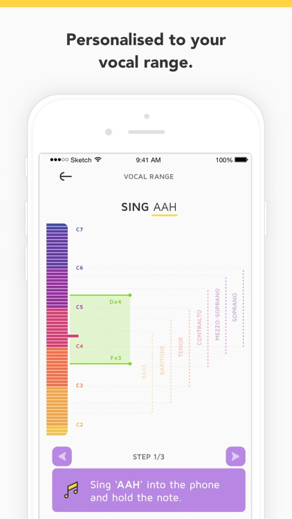 Vanido: Learn to sing with daily singing exercises