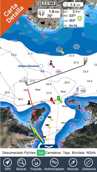 Grecia Cartas Náuticas GPS HDCaptura de pantalla de1