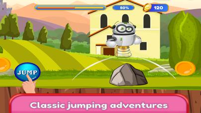 Kids Robot Game - Build & Jump screenshot two