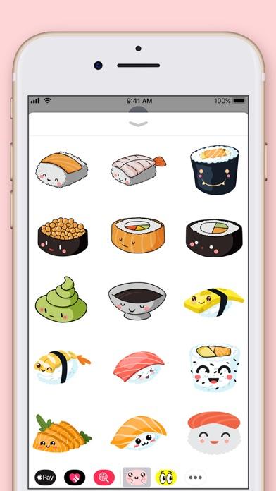 Cute Kawaii Stickers screenshot three