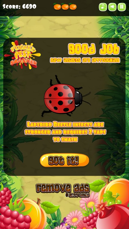 Insect Smasher for Kids screenshot-3
