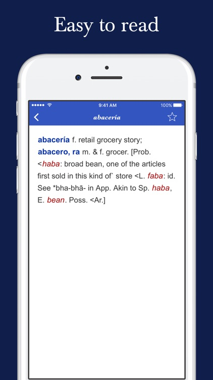 Spanish Etymology Dictionary