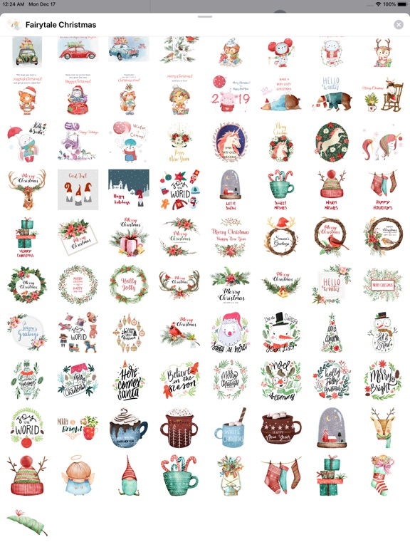Fairytale Christmas Stickers screenshot 9