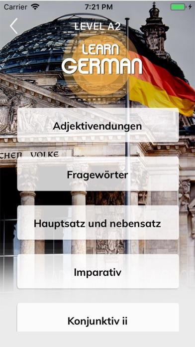 Learn-German Screenshot 2