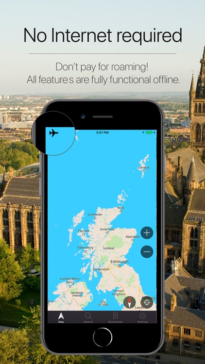 Scotland Offline Navigation screenshot-0
