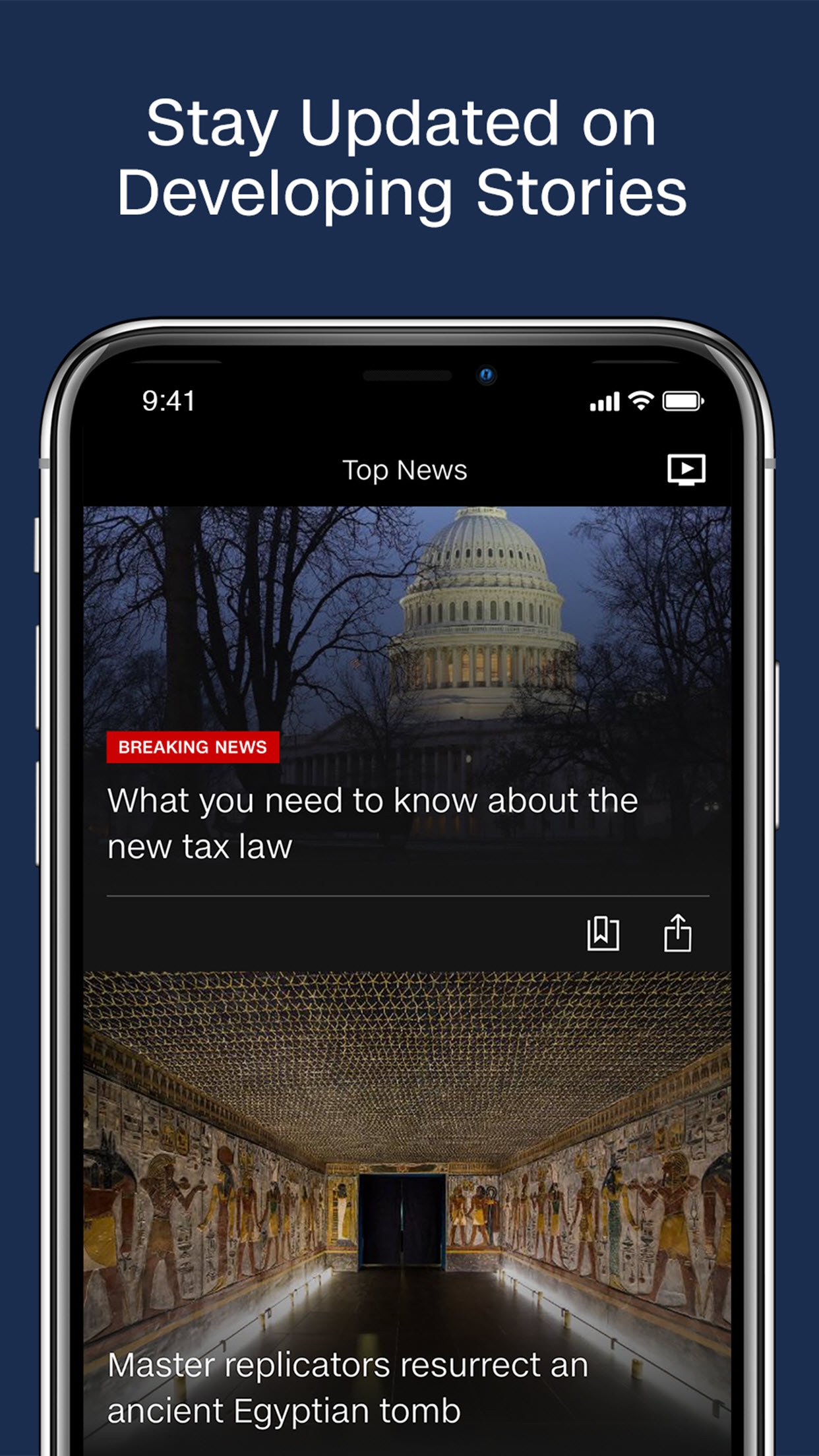 CNN: Breaking US & World News Screenshot