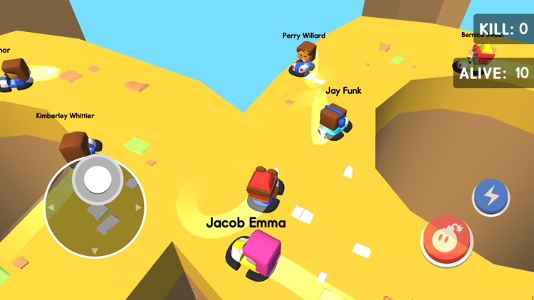 Bumper Kart.io: Crash and Bomb