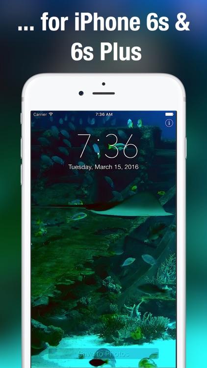 Aquarium Moving Wallpapers+ screenshot-4