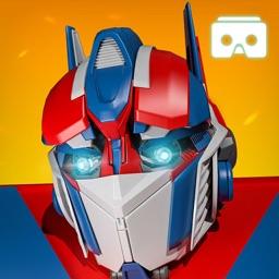 VR Flying Iron Robot Transform
