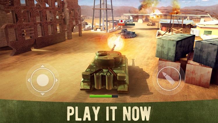 War Machines: 3D Tank Shooting screenshot-0