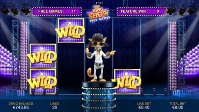 Cat in Vegas Slot Machine screenshot three