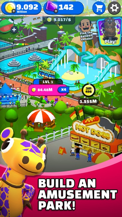Click Park: Idle Building Game screenshot 1