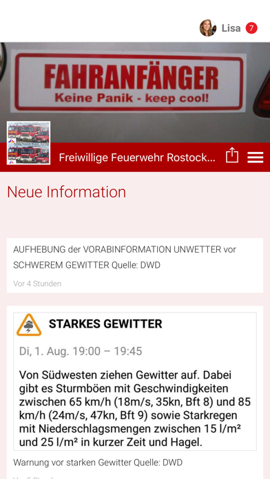 FF Rostock Groß Klein screenshot 1