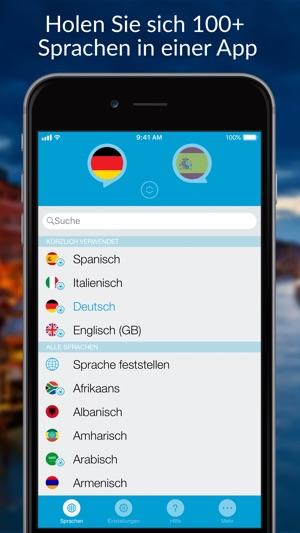Sprich Ubersetze Ubersetzer Im App Store