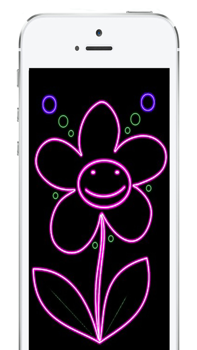 Drawing Pro:Neon lights effect