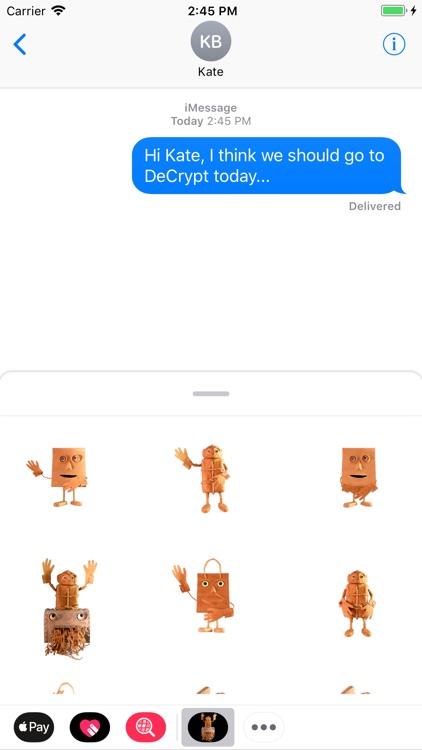 DeCrypt Stickers