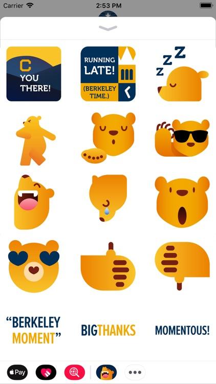 Cal Bears Stickers screenshot-3