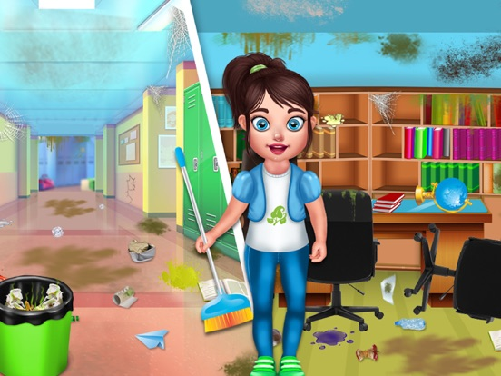 Baby School Cleaning screenshot 10