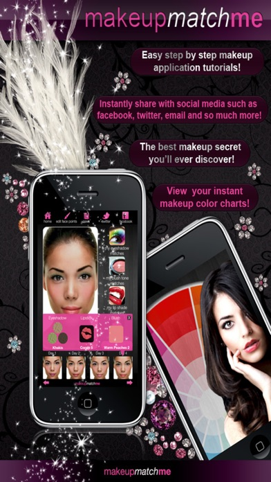 Screenshot for MAKEUP MATCH ME in Poland App Store