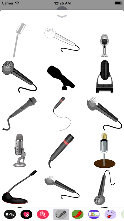 Microphone Stickers