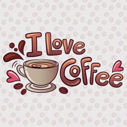 Coffee sticker Pack for Coffee Lovers