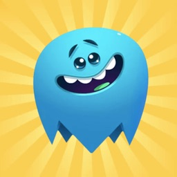 Funny Blue Ghost Stickers